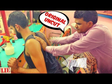 Great Indian Head Massage Original Uncut (4K) | Towel Crack | Indian Barber Experience
