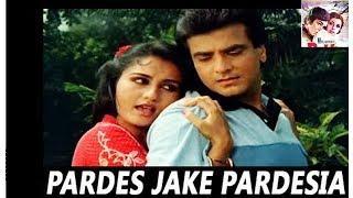 Pardes Jake Pardesiya Bhool Na Jana Piya   Lata Mangeshkar   Arpan 1983 Songs   Reena Roy, Jeetendra