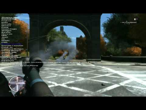Maximum Weapons Mod 55 Weapons Ingame In Liberty City By Janusantsky Beta 3