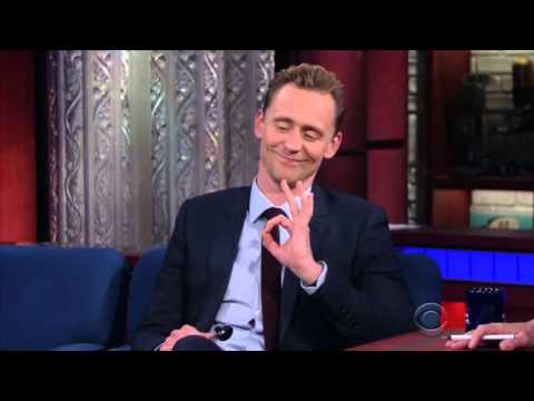 Tom Hiddleston and his Spoons