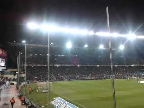 Tifo Atletico de Madrid - Barcelona Cuartos de Final Copa del Rey 2014