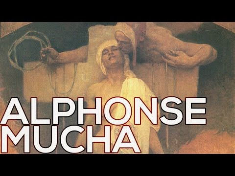 Alphonse Mucha: A collection of 111 paintings (HD)