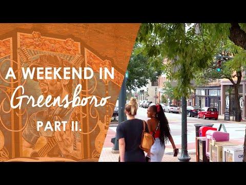 A Weekend In Greensboro Part II.   North Carolina Weekend   UNC-TV