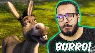 A ORIGEM DO BURRO DO SHREK! - Teoria