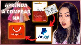 Como comprar no AliExpress com VISA VANILLA CARD (cartão pré- pago do kombini) screenshot 3