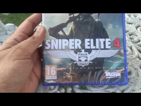 Sniper Elite 4 for the ps4