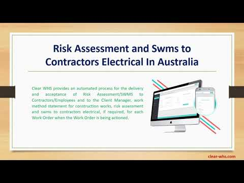 risk-assessment-and-swms-to-contractors-electrical-in-australia