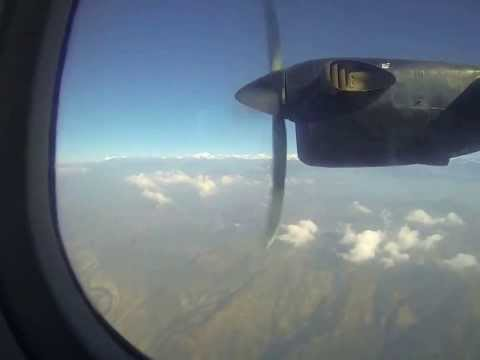 FLIGHT OUT OF LUKLA AIRPORT!