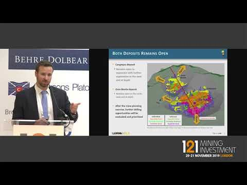 Presentation: Lumina Gold - 121 Mining Investment London Autumn 2019