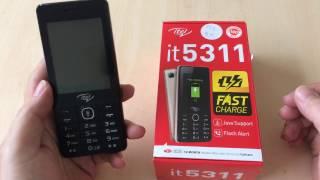 Mở hộp Itel IT5311 và test thử một số tính năng