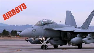 EA-18G Growlers At Nellis - Red Flag