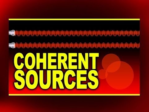 Coherent Sources | Plus Two Physics Animations