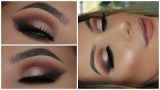 Champagne Glitter Smokey Eye | Full Face | Amys Makeup Box