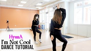 Download lagu HyunA - 'I'm Not Cool' Lisa Rhee Dance Tutorial