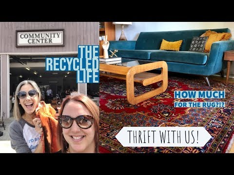 THRIFT HAUL WITH US! Garage Sales, Estate Sales And Rummage Sale All In 1 Day! The Recycled Life
