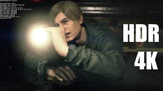 Resident Evil 2 HDR 4K Gaming EVGA GeForce RTX 2080 Ti FTW3 ULTRA