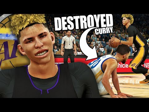 NBA 2K17 MyCAREER LaMelo Ball #9 - LaMelo DESTROYS Curry!!! MY LAST 2K17 VIDEO!