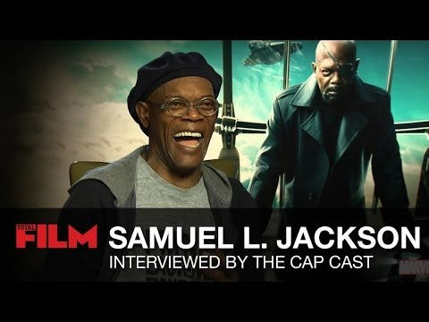 Captain America: The Winter Soldier Cast interview Samuel L Jackson