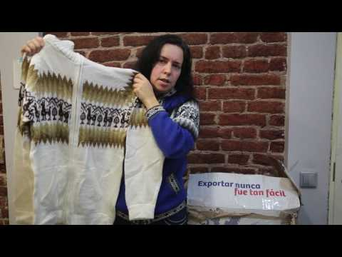 Обзор одежды из Перу, свитера и шапки из шерсти альпаки