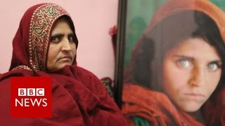 Afghan 'green eyed girl' on her future   BBC News