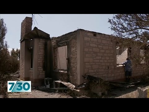 Properties Damaged And Destroyed In SA Bushfire
