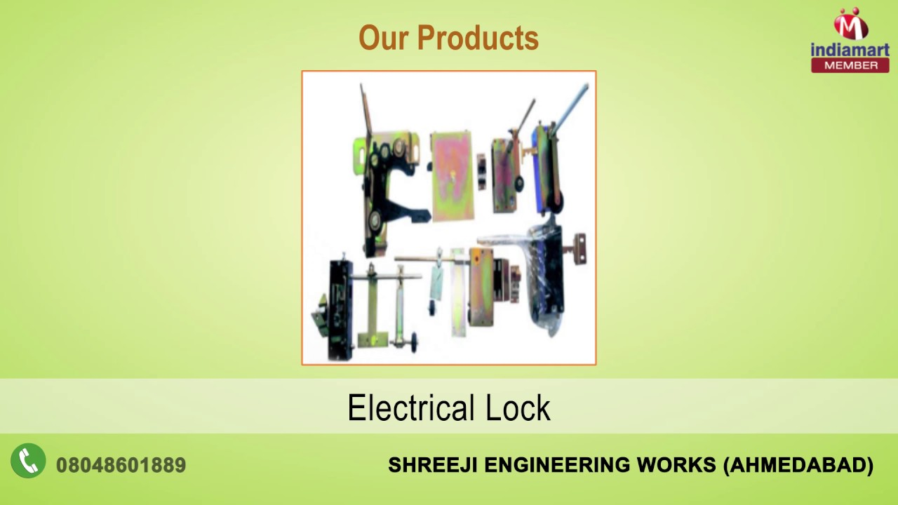 Elevator Spare Parts and Accessories By Shreeji Engineering Works, Ahmedabad