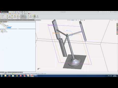 Analysis of Wind Loading on a Structure using SolidWorks Simulation