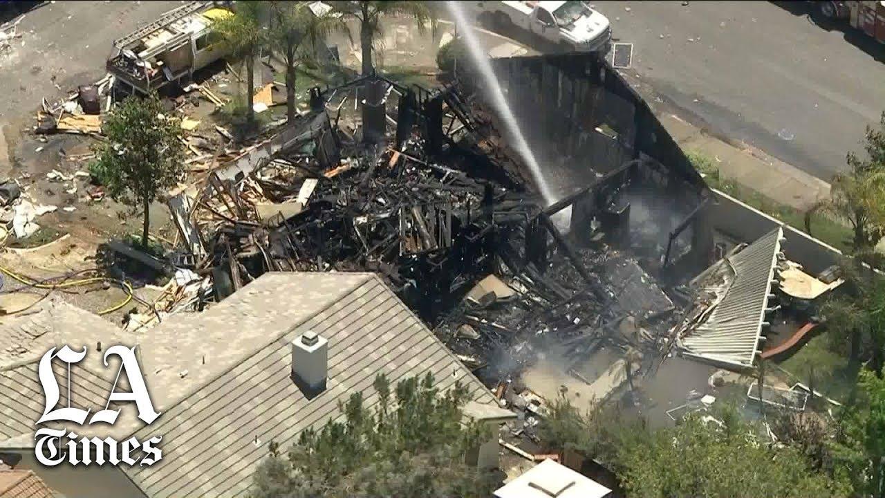 Explosion rocks Murrieta neighborhood