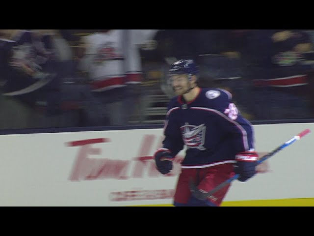 Panarin, Bjorkstrand score in SO to lift Jackets