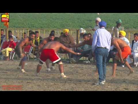 MADHO JHANDA (Kapurthala) KABADDI CUP - 2016 || 1st SEMI FINAL NAKODAR vs BOPARAI || FULL HD ||