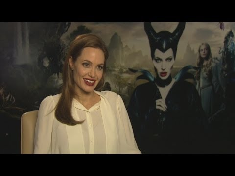 Angelina Jolie interview: Maleficent's leather costumes and British accents