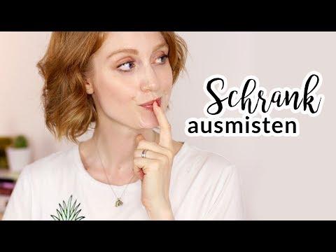 KLEIDERSCHRANK AUSMISTEN NO 3 I AUSSORTIEREN I Advance Your Style