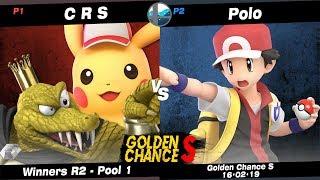 Golden Chance S: C R S (King K. Rool, Pikachu) vs OZN   NF   Polo (Pokémon Trainer) - Pool 1 WR2 Video