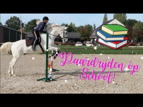 Springen met een paard van school! ♥ Madee Fleur