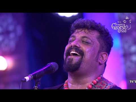 """""""Gudugudiya Sedi Nodo"""" by Raghu Dixit at 55th Bengaluru Ganesh Utsava"""