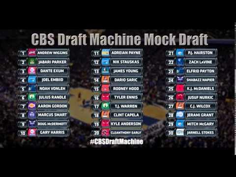 2014 nba draft machine