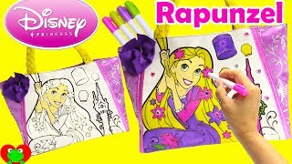 Disney Princess Rapunzel Tangled Purse Coloring and Num Noms