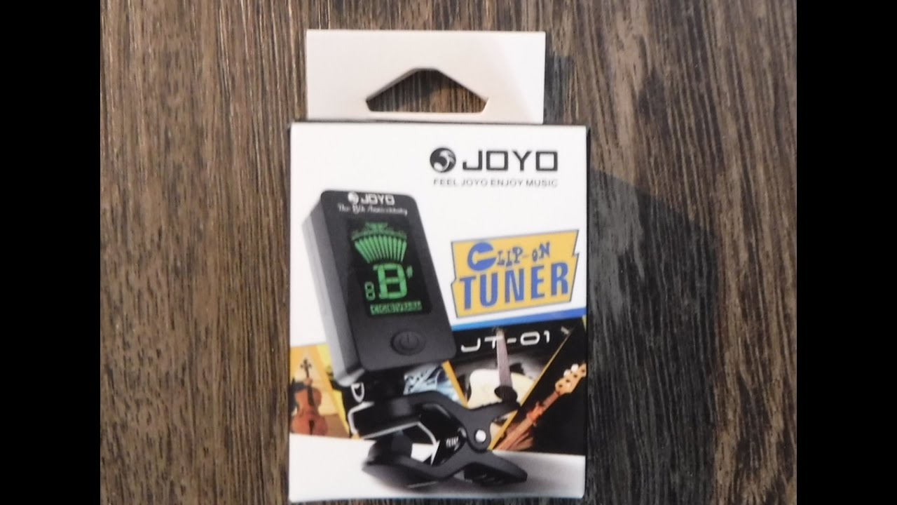 Joyo Jt 01 Guitar Tuner Review And Test Youtube