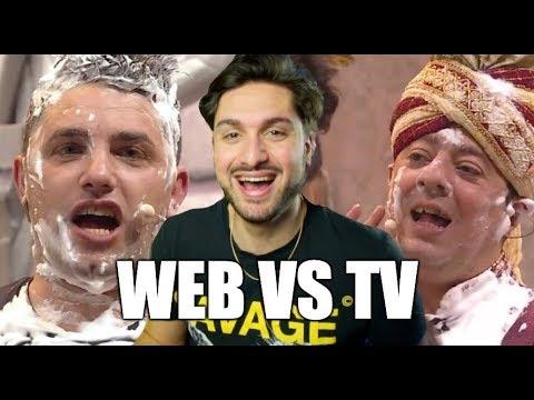 CIAO DARWIN 8: WEB VS TV CON AMEDEO PREZIOSI MATT & BISE  ANTHONY IPANT&39;S