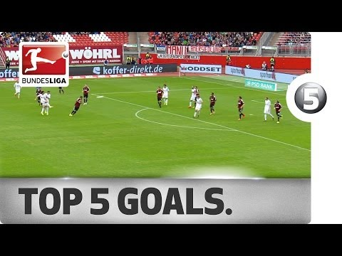 Top 5 Goals - Pizarro, Harnik and More with Great Goals on Matchday 31
