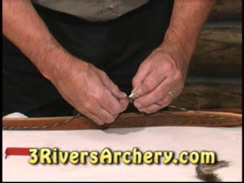 3Rivers Archery Installing String Silencers