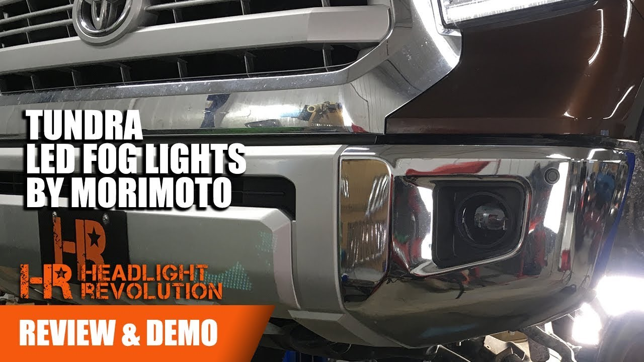 Morimoto Xb Led Fog Light Toyota Tundra Review And Demo Headlight Revolution
