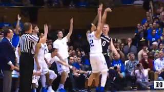 Top Plays: Duke 88, Notre Dame 66 (1/29/18)