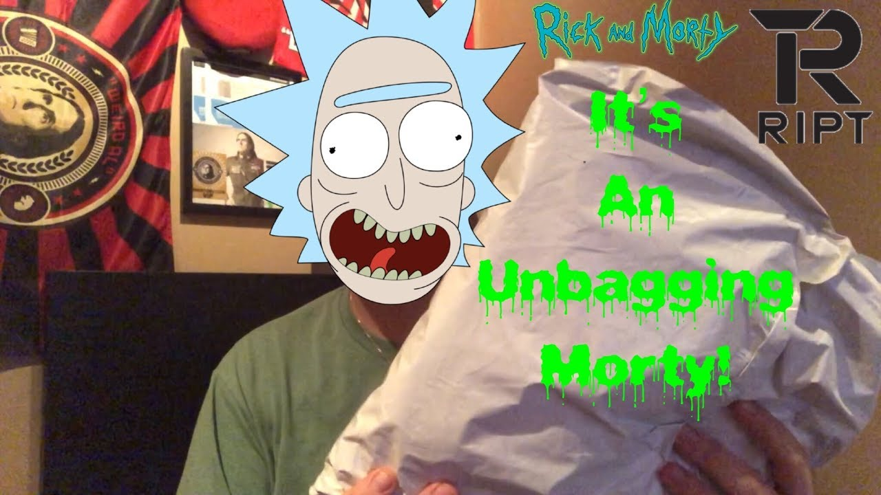 An Unbagging Videoript Ive Turned Into A Sweater Custom Rick