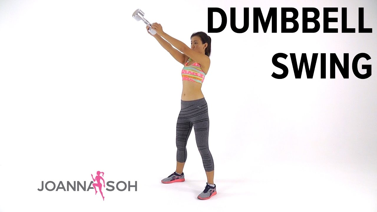 How to do Dumbbell Swing | Joanna Soh