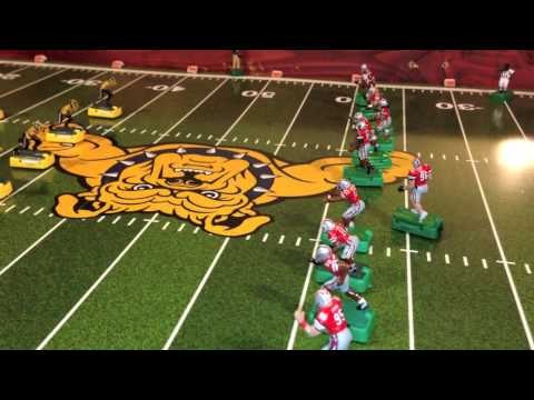 (Season 1)Electric Football Aggies Verses Buckeyes (1st Quarter)