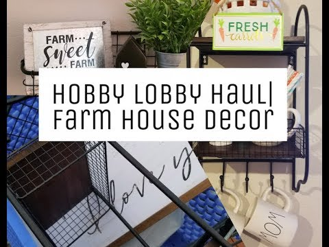 Hobby Lobby Haul| Farmhouse Decor