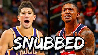 The 6 Most SHOCKING 2020 NBA All Star SNUBS!