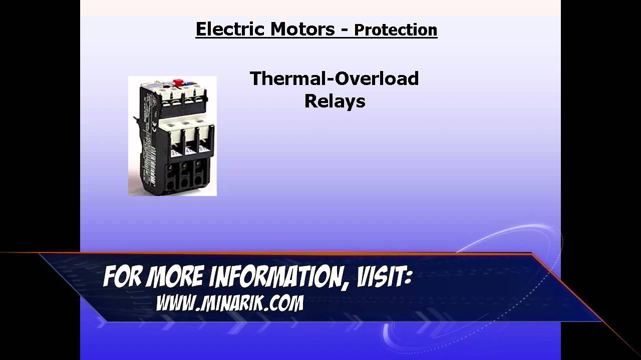Training in 60 seconds motor peripherals thermal for Motor thermal overload protection