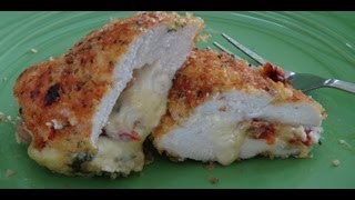 Easy Stuffed Chicken Breast with Sun-Dried Tomatoes Recipe